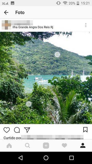 Dar Zoom nas imagens do Instagram