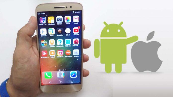 Como deixar Android igual iOS 11