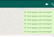 ler mensagens apagadas do WhatsApp