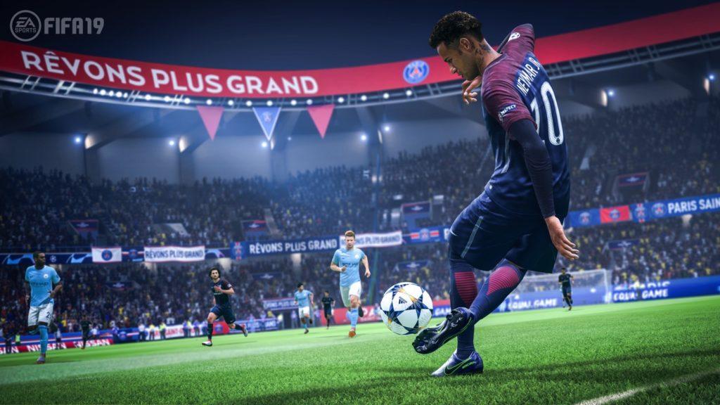 Neymar é um dos destaques no FIFA 19