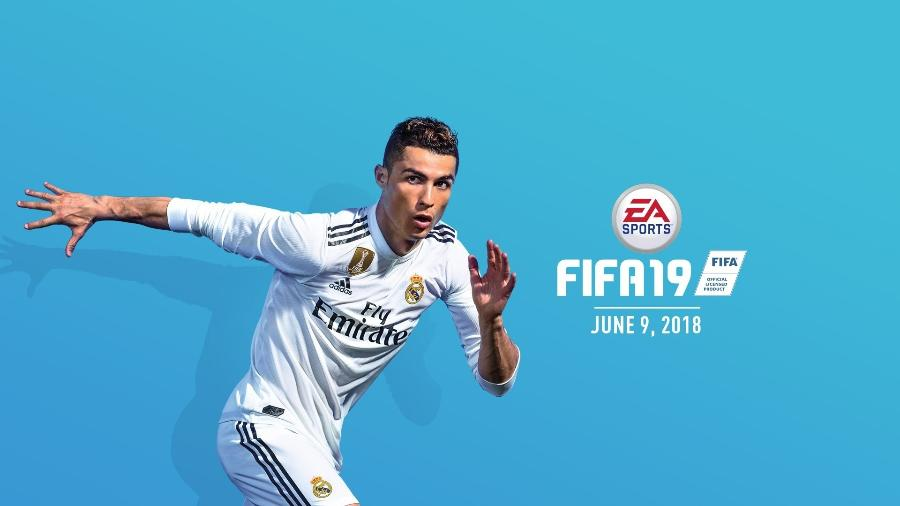 Cristiano Ronaldo é anunciado como garoto propaganda do FIFA 19