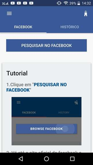 Aplicativo Vídeo Downloader For Facebook