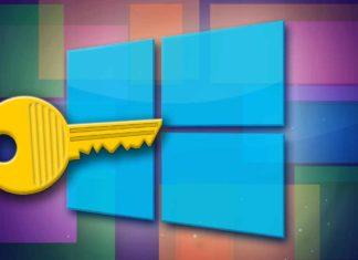 Chave de ativação do Windows