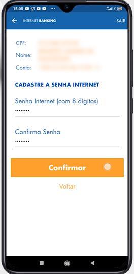 Senha internet banking