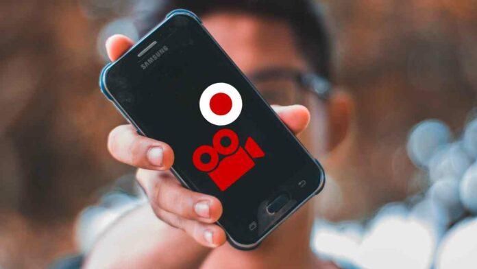 gravar tela do celular