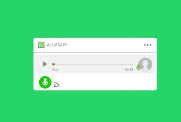 Ouvir áudio mais rápido no WhatsApp