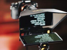 Aplicativo de teleprompter