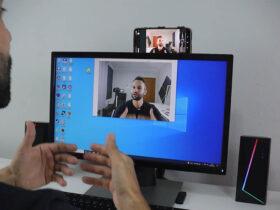 Usar celular como webcam